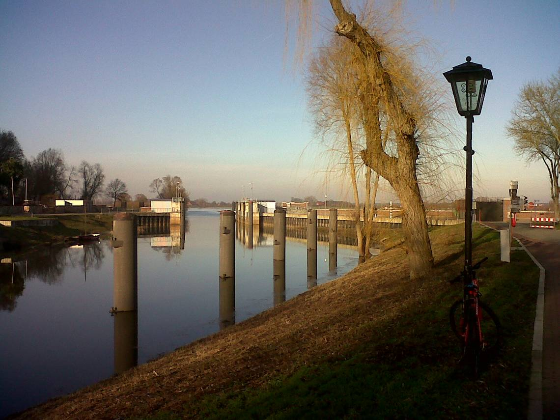 An der Elbe in Hitzacker © LLV